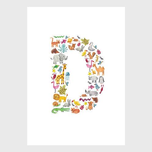 Animal Alphabet: D