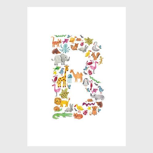 Animal Alphabet: B
