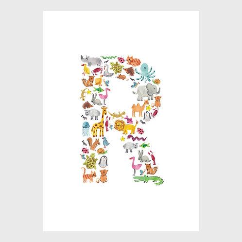Animal Alphabet: R
