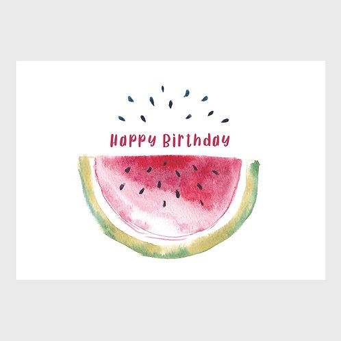 Melon & Ellie Birthday Cards