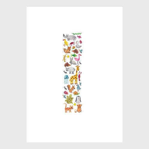 Animal Alphabet: I