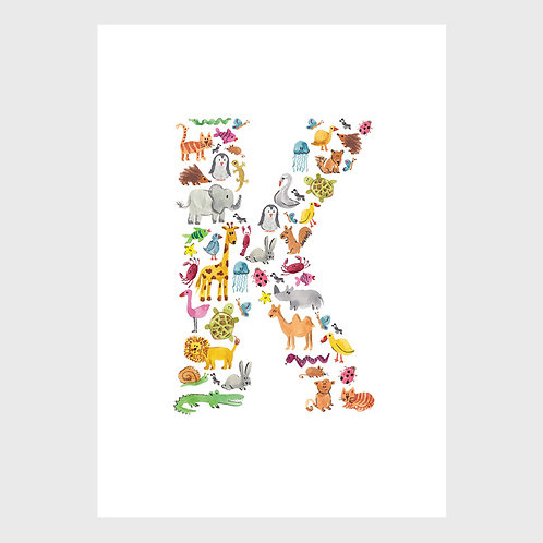 Animal Alphabet: K