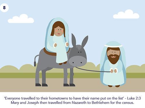 24 Nativity Cards