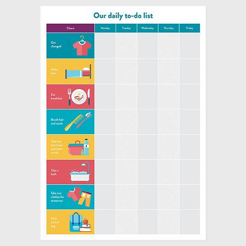 Chore Chart - One