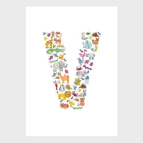 Animal Alphabet: V