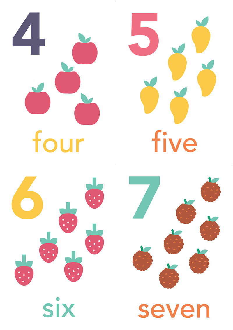 Sarah Jager Design free counting printable