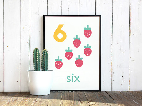 Fruity Counting Printables