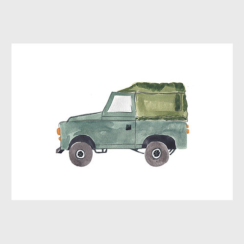 Army Green Landrover