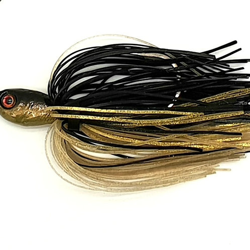 Black n Gold - 2oz Spinnerbaits