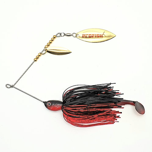 Black n Red - 1/2oz Spinnerbaits