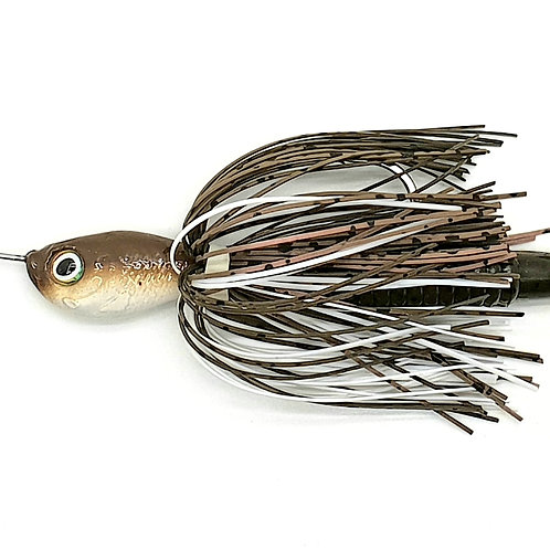 Brown n White - 2oz Spinnerbaits