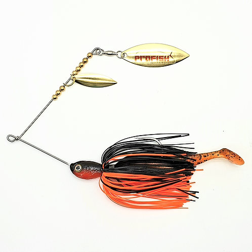 Black n Orange - 5/8oz Spinnerbaits