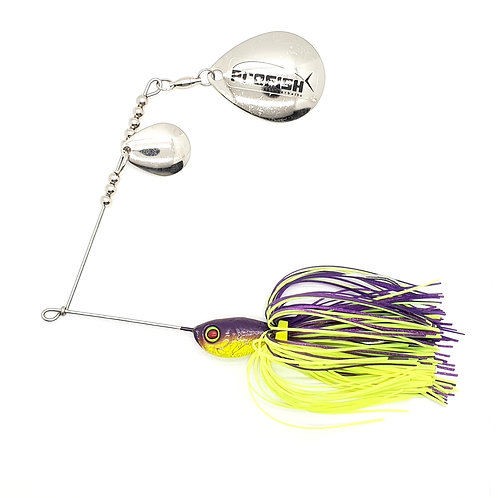 Purple n Chartreuse - 5/8oz Spinnerbaits