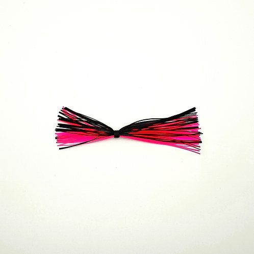 Black and Fluro Pink - Skirt