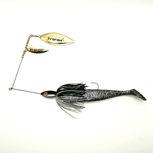 Black and Silver - Standard Spinnerbaits