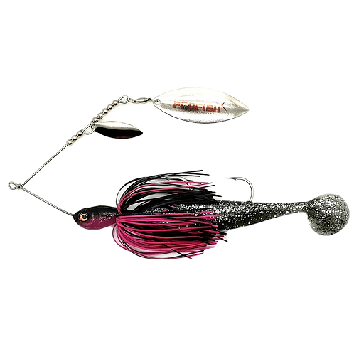 Black n Pink - 1oz Spinnerbait