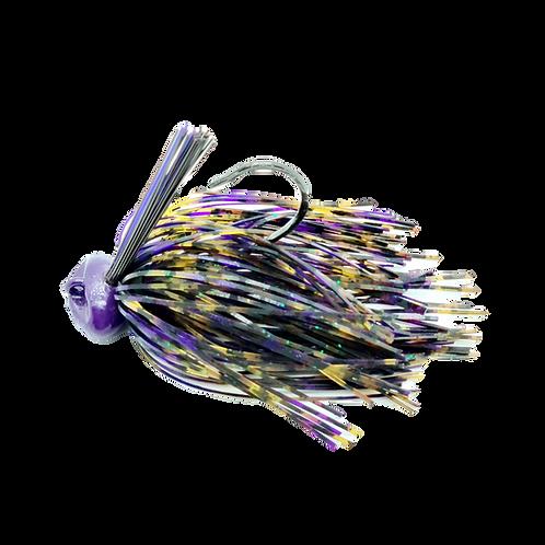 Dirty Purple - Weedless Football Jig