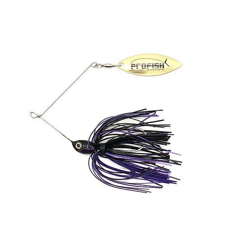 Black n Purple - Micro Spinnerbaits