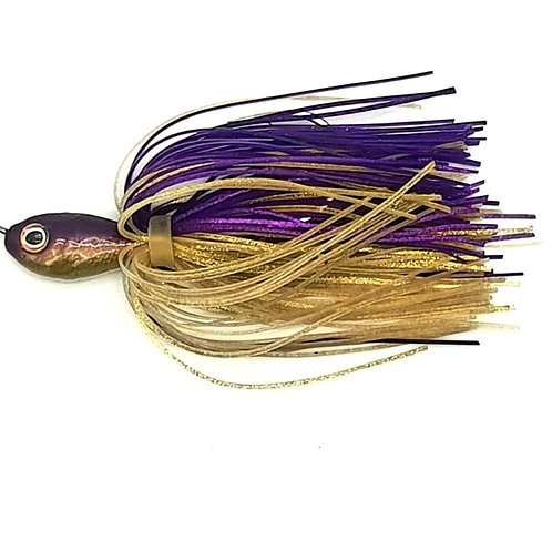 Purple n Gold - 2oz Spinnerbaits