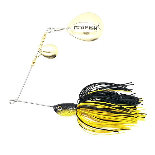 Black n Yellow - 5/8oz Spinnerbaits
