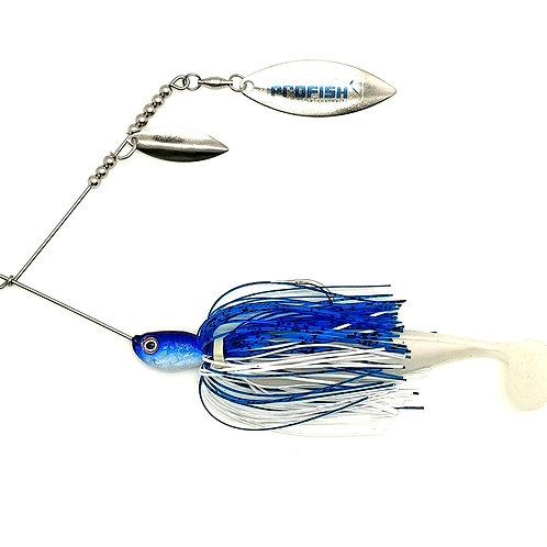 Blue n White - 5/8oz Spinnerbaits