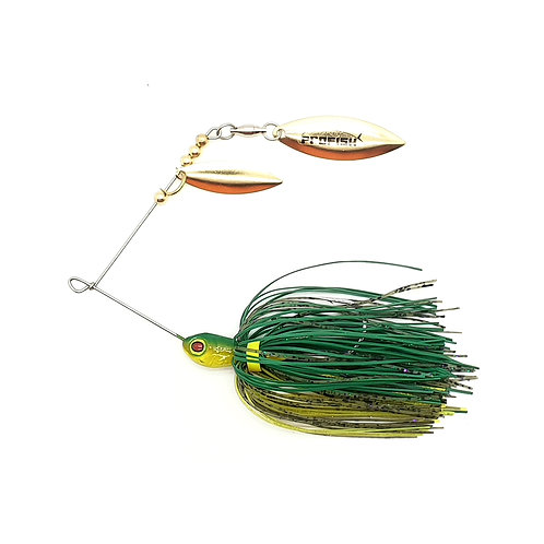 Aussie Frog - 1/4 and 3/8oz Spinnerbaits