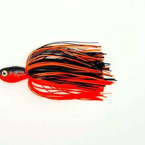 Black n Fluro Orange - Trembler Pro Series