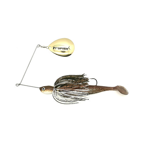 Brown and White - Standard Spinnerbaits