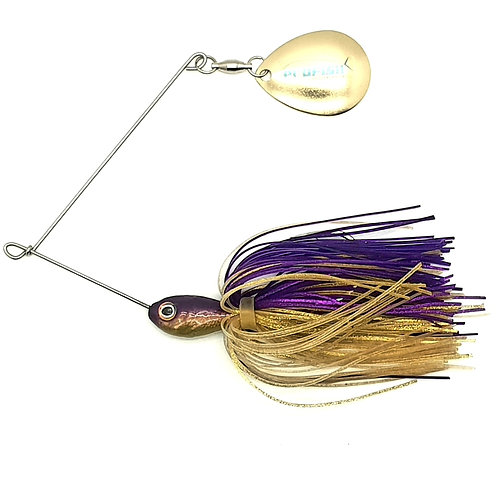 Purple n Gold - 1/4 and 3/8oz Spinnerbaits