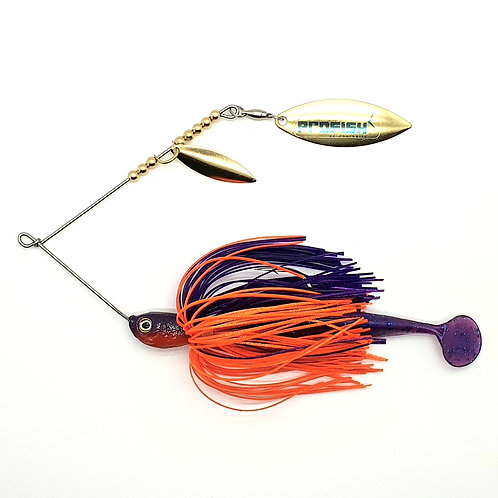Purple and Orange - Standard Spinnerbaits