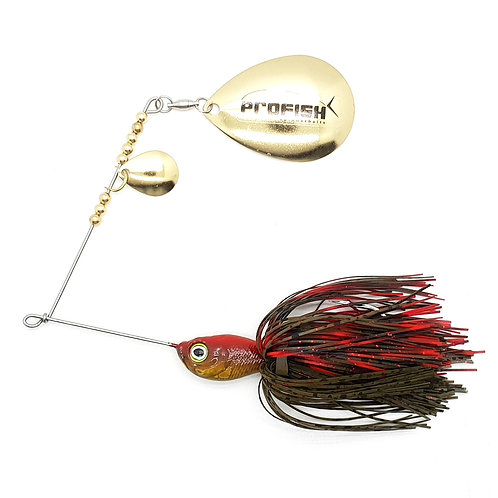 Red Cray - 1/2oz Spinnerbaits