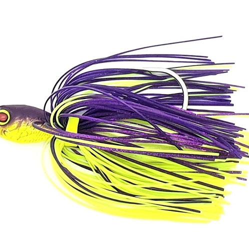 Purple n Chartreuse - Pulsating Profish Pro Series