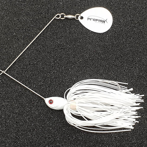 White - Top Pick Spinnerbaits