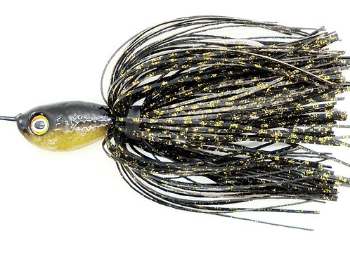 Black n Gold Scale - Finesse Pulsating Profish