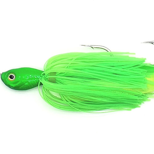 Fluro Lime Green - 5/8oz Spinnerbaits