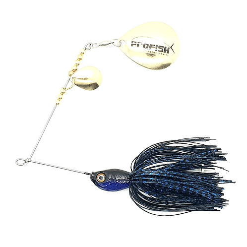 Black n Blue Scale - 5/8oz Spinnerbaits