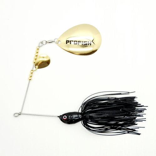Black - 5/8oz Spinnerbaits