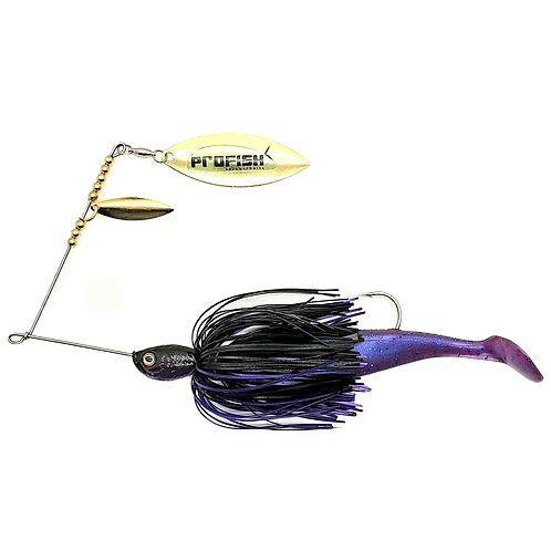 Black n Purple - 1oz Spinnerbait