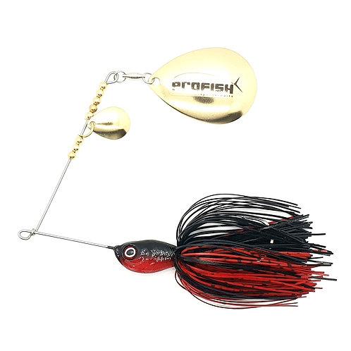Black n Red - 5/8oz Spinnerbaits
