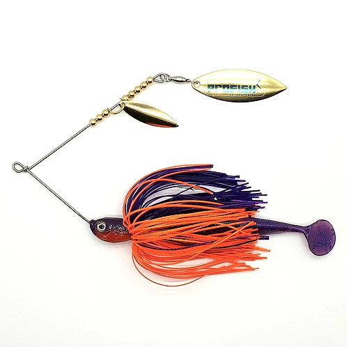 Purple n Orange - 1/2oz Spinnerbaits