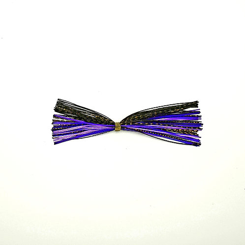 Purple, Black and Gold Scale - Skirt