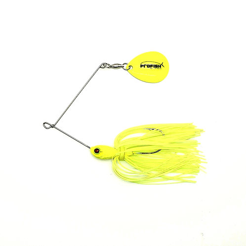 Chartreuse - 1/4 and 3/8oz Spinnerbaits