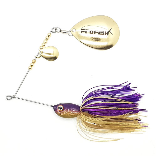 Purple n Gold - 5/8oz Spinnerbaits