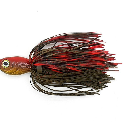 Red Cray - 1.5oz Spinnerbaits