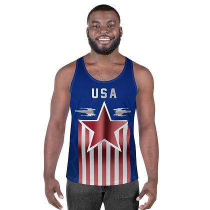 Team USA X-wing Tank Top - All Over Print Shirt