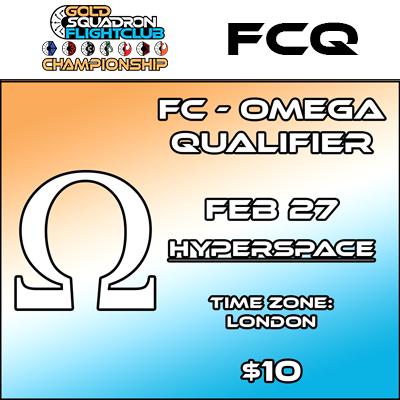 Omega Qualifier - Flight Club - Feb 27th