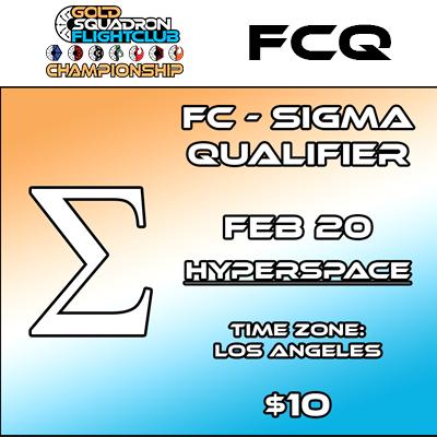 Sigma Qualifier - Flight Club - Feb 20th