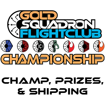 Flight Club Champ Event, Prizes, and Shipping Fee