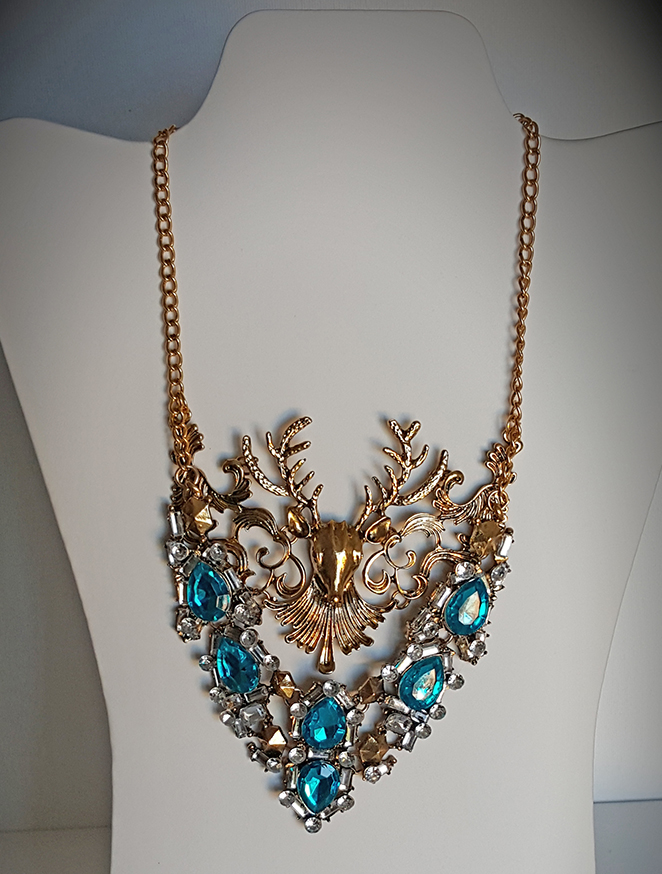 DEER BLUE NECKLACE