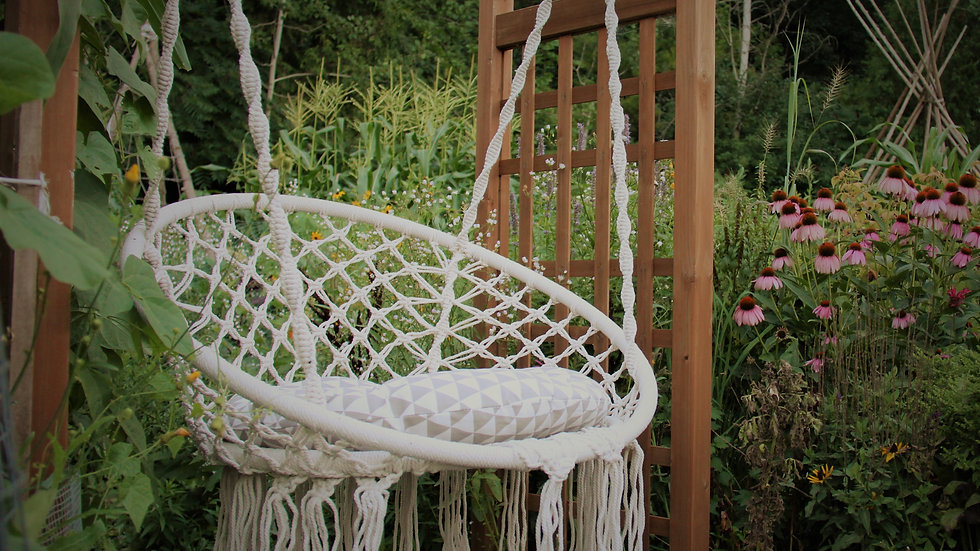 Macrame Tree Swing